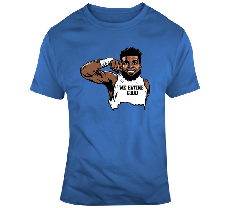 We Eating Good Mr Z Ezekiel Elliott Dallas Cowboys Flexing T Shirt