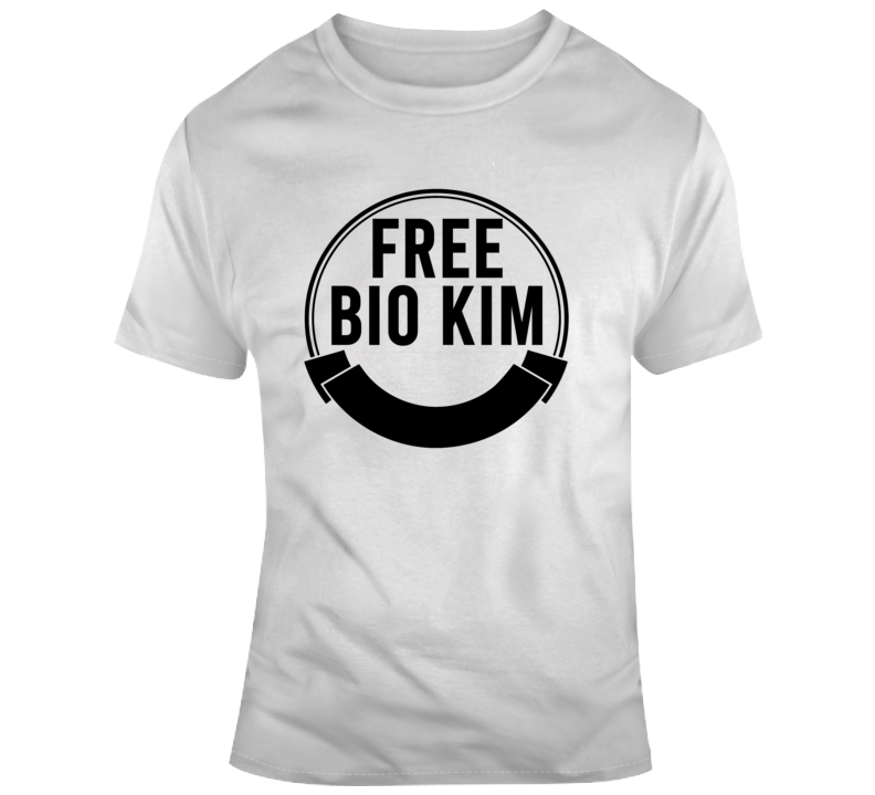 Free Bio Kim Golf Kevin Na Suspended Middle Finger T Shirt