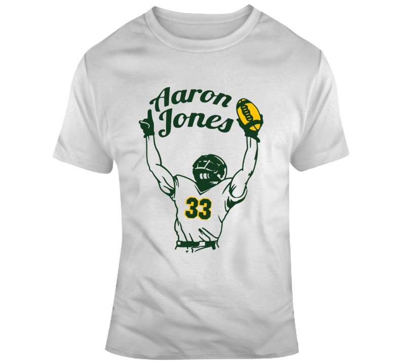 Aaron Jones Green Bay Football Running Back T Shirt