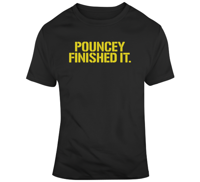 Maurkice Pouncey Pittsburgh Steelers Brawl Cleveland Finished It Funny Football T Shirt