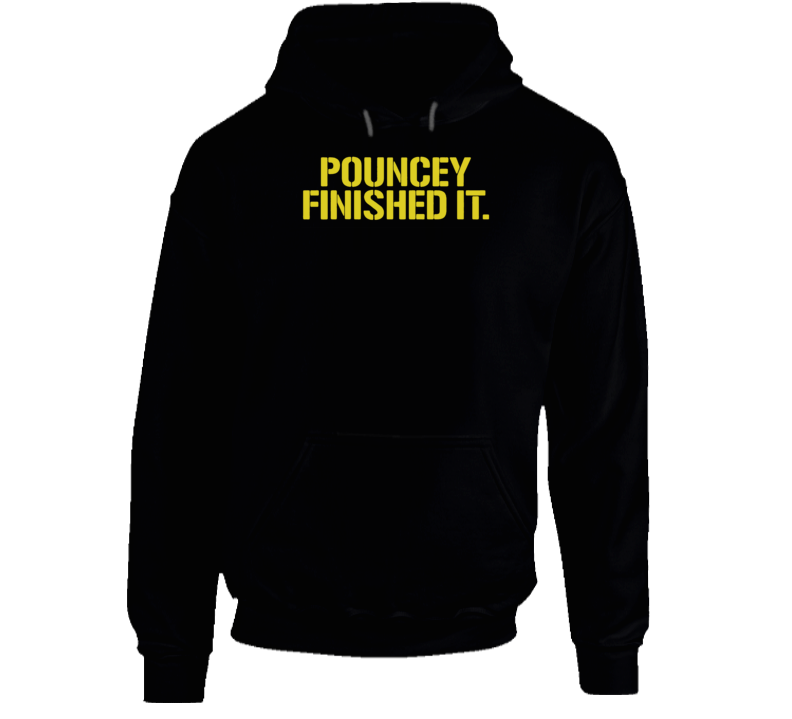 Maurkice Pouncey Pittsburgh Steelers Brawl Cleveland Finished It Funny Football Hoodie