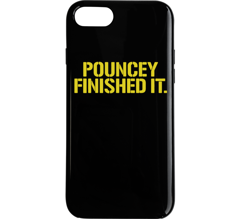 Maurkice Pouncey Pittsburgh Steelers Brawl Cleveland Finished It Funny Football Phone Case