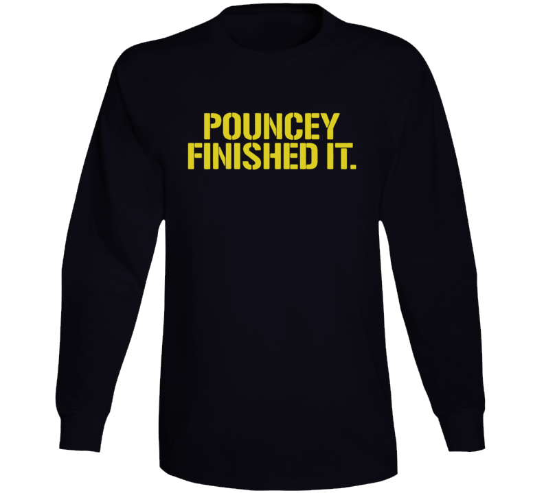 Maurkice Pouncey Pittsburgh Steelers Brawl Cleveland Finished It Funny Football Long Sleeve