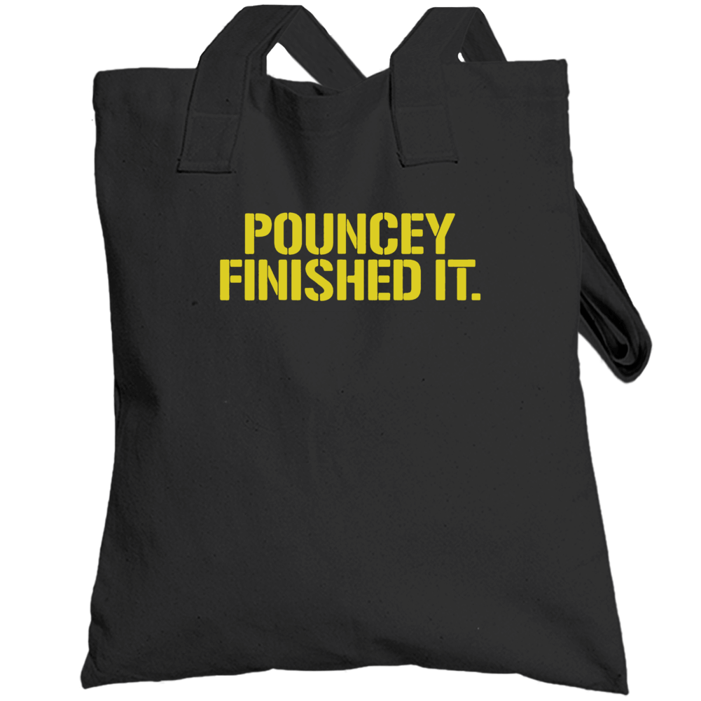 Maurkice Pouncey Pittsburgh Steelers Brawl Cleveland Finished It Funny Football Totebag