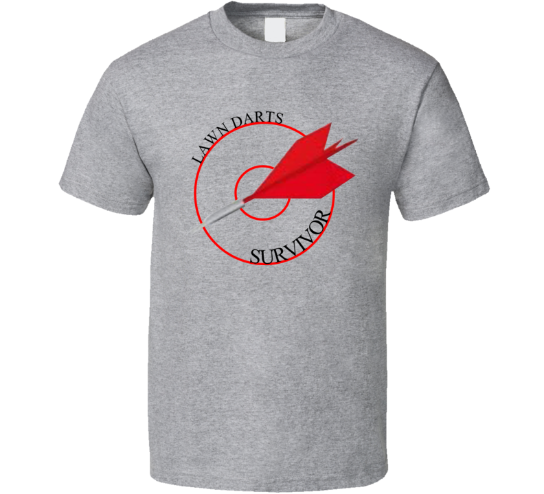 Funny Retro Lawn Darts Survivor T Shirt