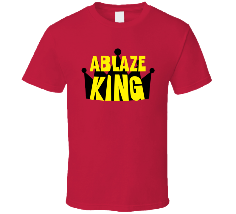 Ablaze King Sports And Hobbies Master T Shirt