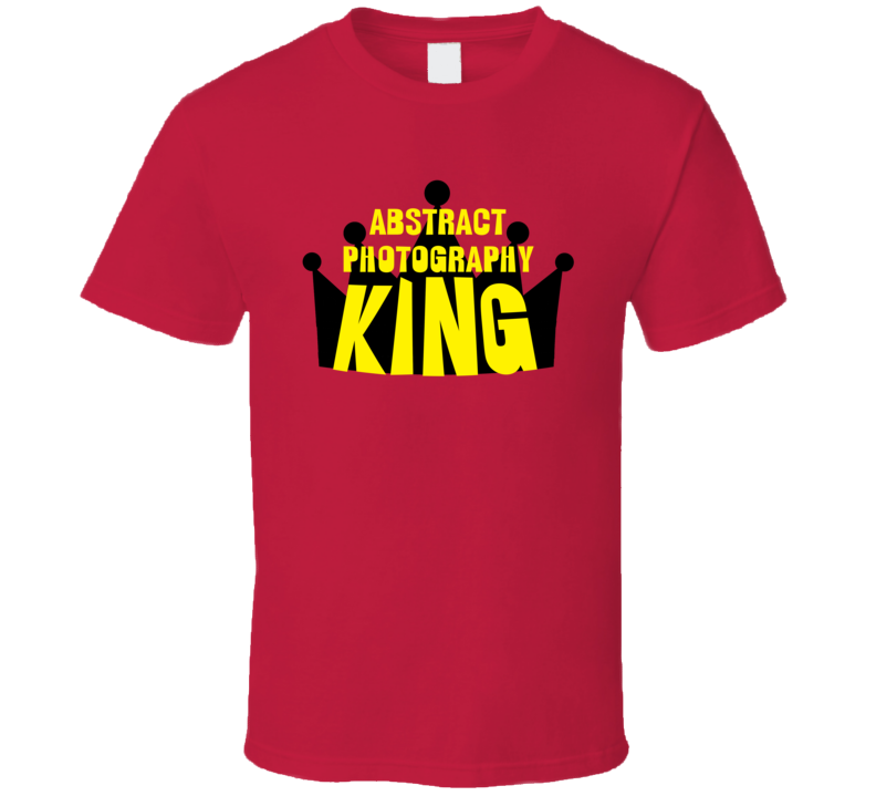 Abstract Photography King Sports And Hobbies Master T Shirt