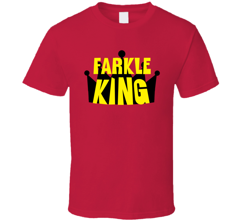 Farkle King Sports And Hobbies Master T Shirt