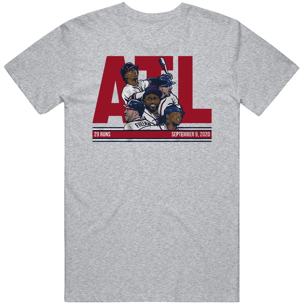 29 Runs Atlanta Baseball History T Shirt