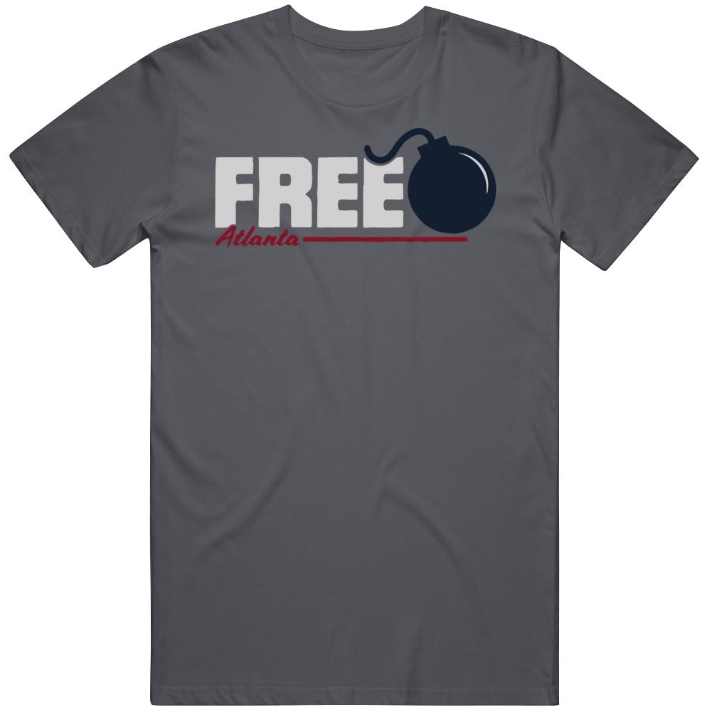 Freddie Freeman Freebomb Home Run Atlanta Baseball T Shirt