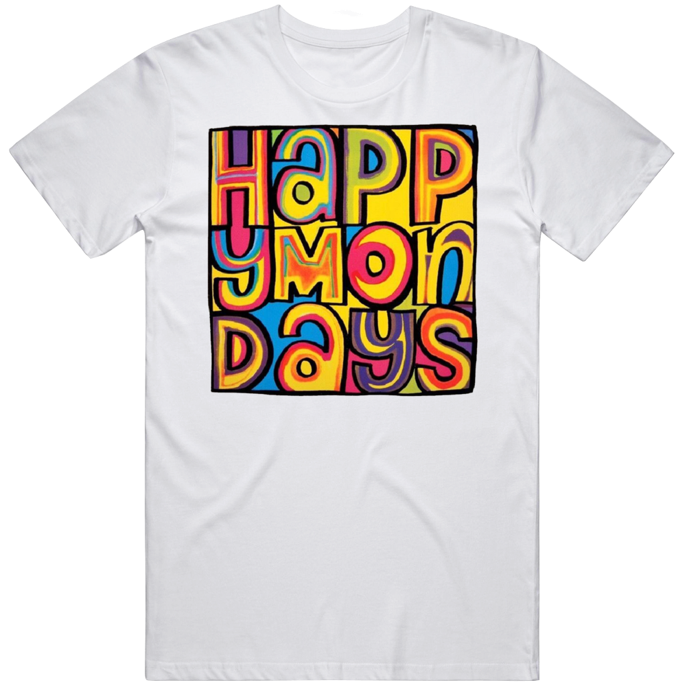 Happy Mondays Rock Band T Shirt