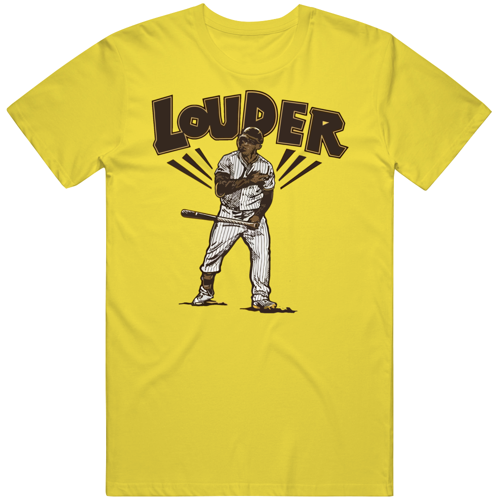 Trent Grisham Louder Dan Diego Baseball T Shirt