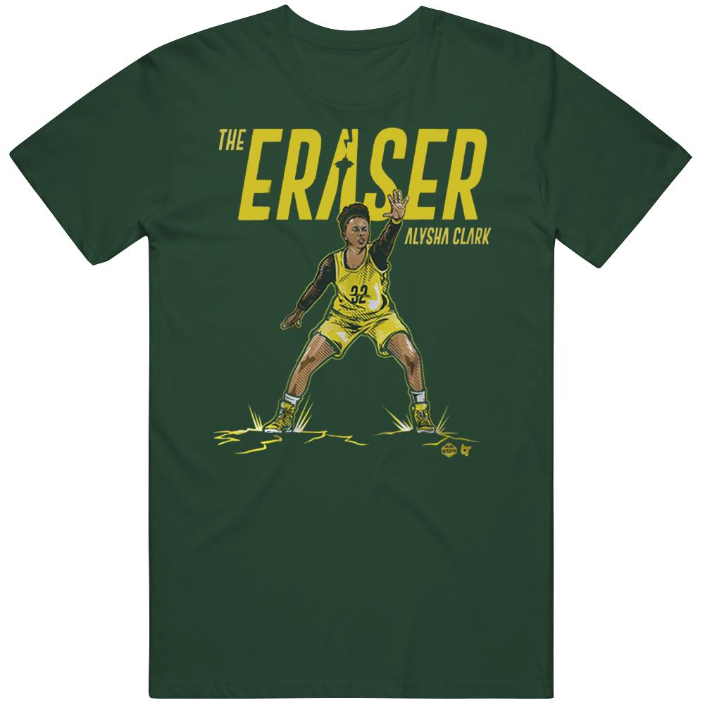 Alysha Clark The Eraser Seattle Basketball T Shirt