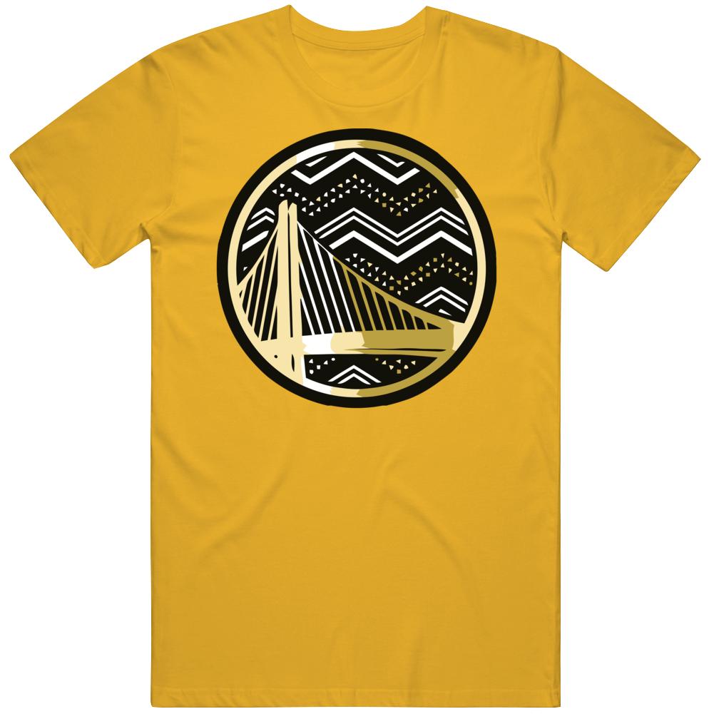 Golden State Basketball Black History Month Logo T Shirt