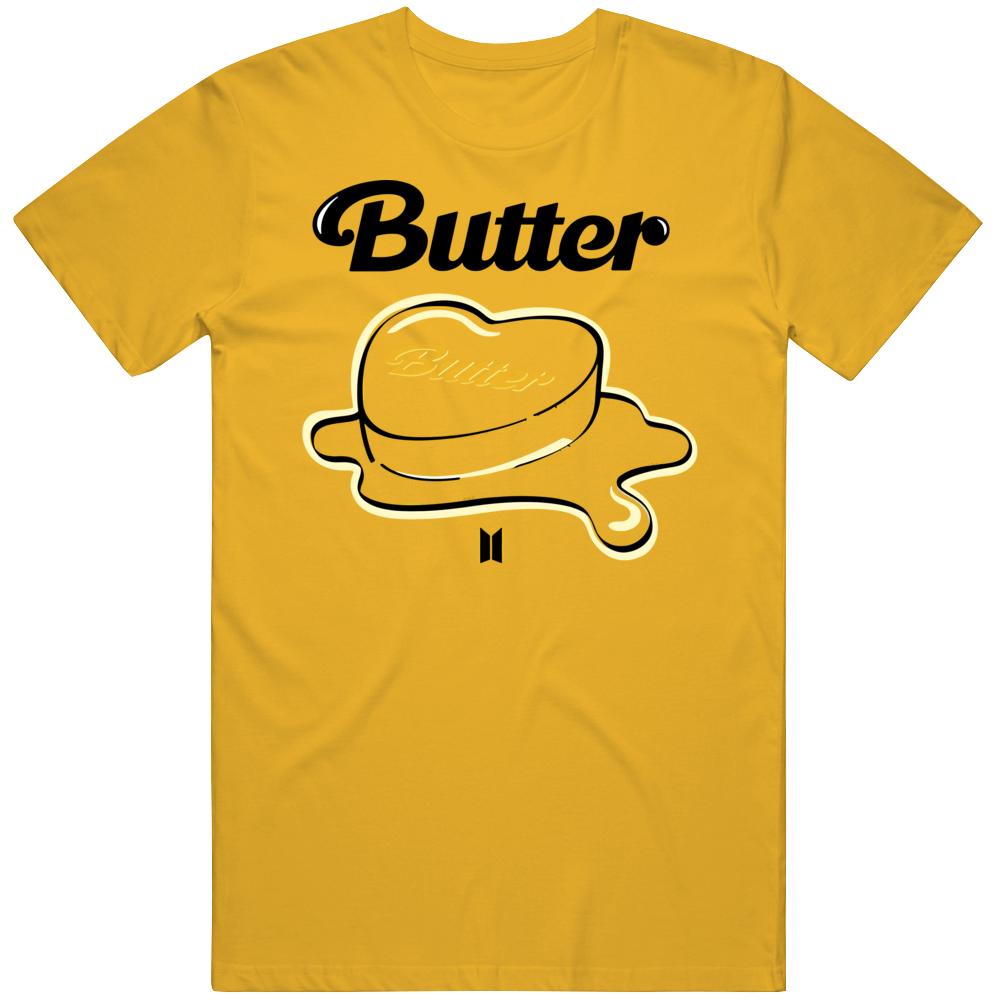 Bts Butter Kpop Logo T Shirt