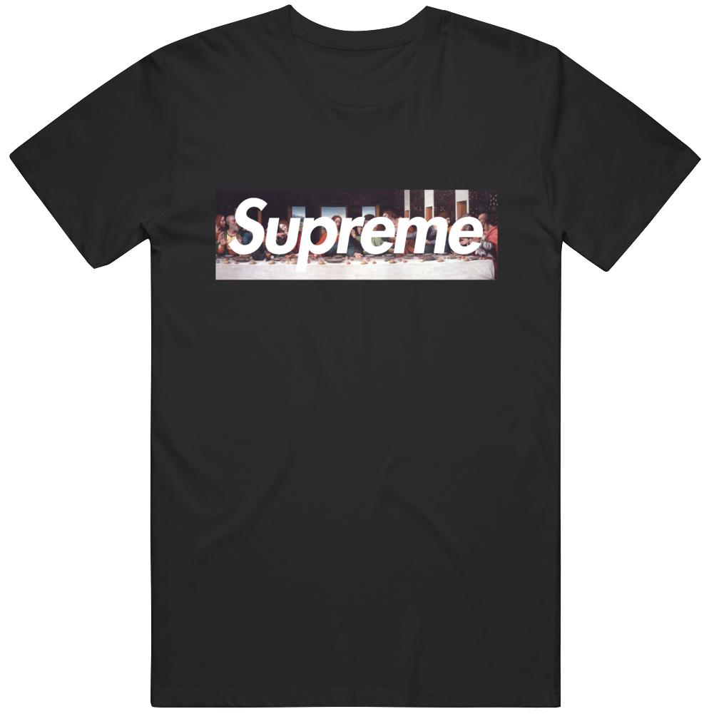 The Last Supper Box Logo T Shirt