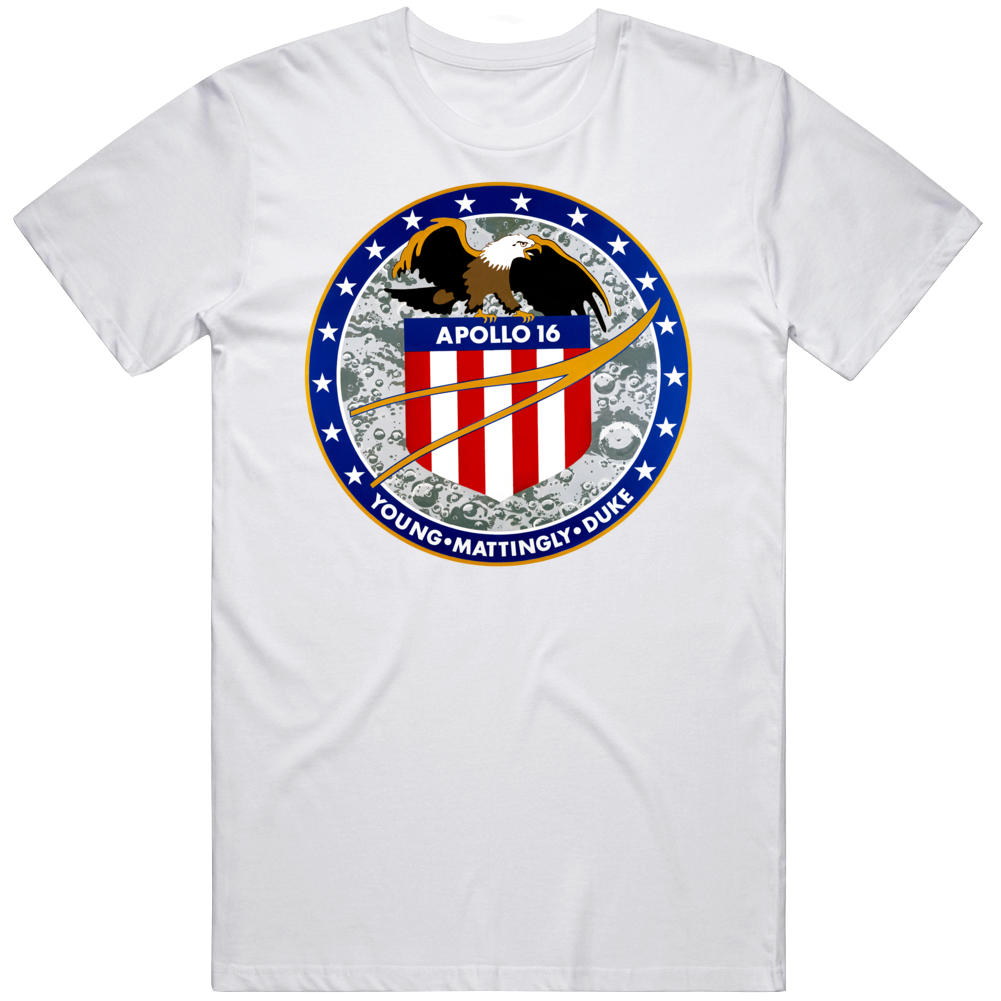 Apollo 16 Mission Patch T Shirt
