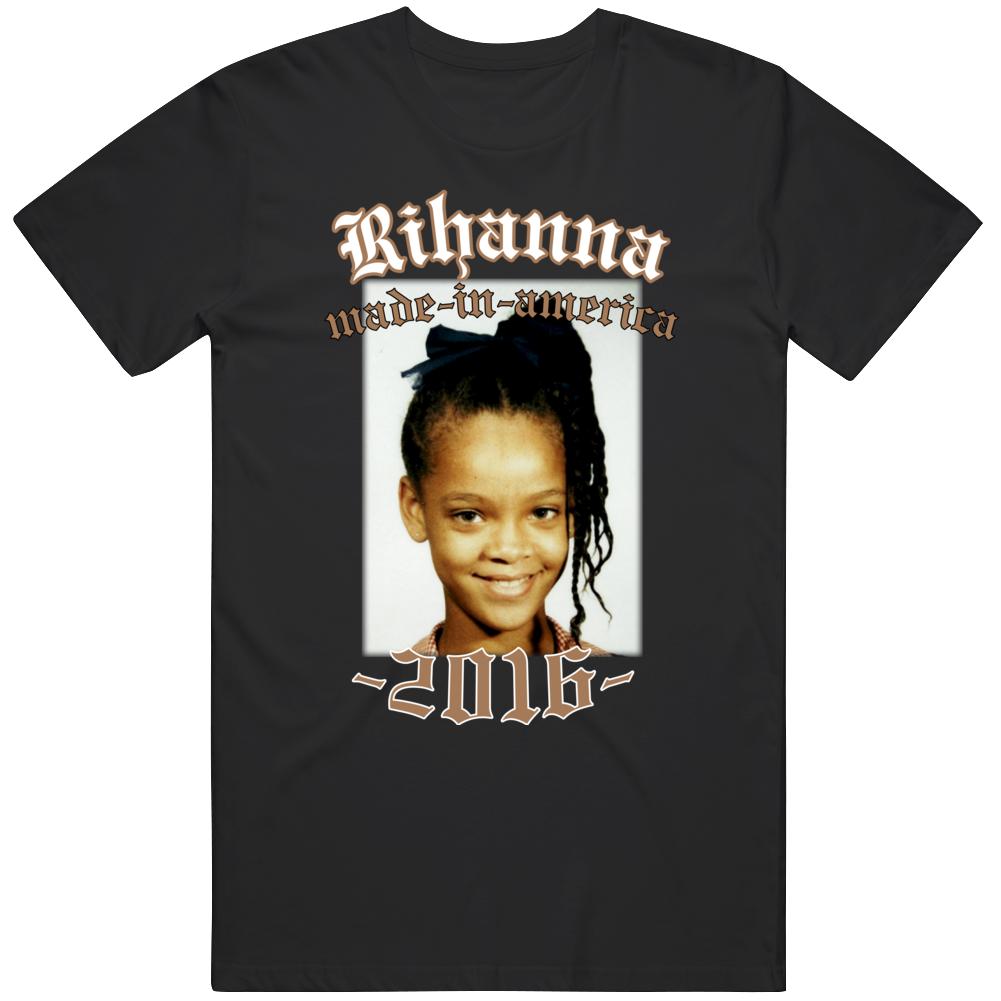 Rihanna Made In America Tour 2016 T Shirt
