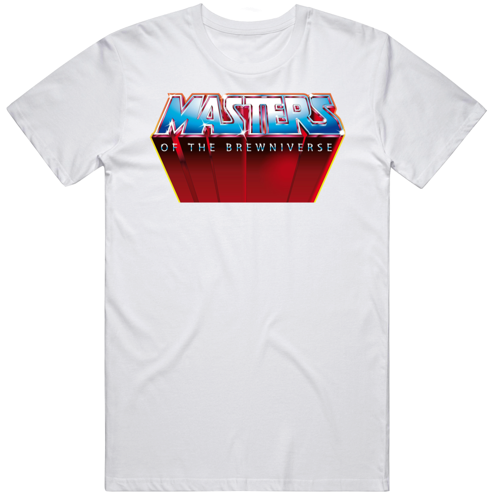 Masters Of The Brewniverse Heman Beer Drinking T Shirt