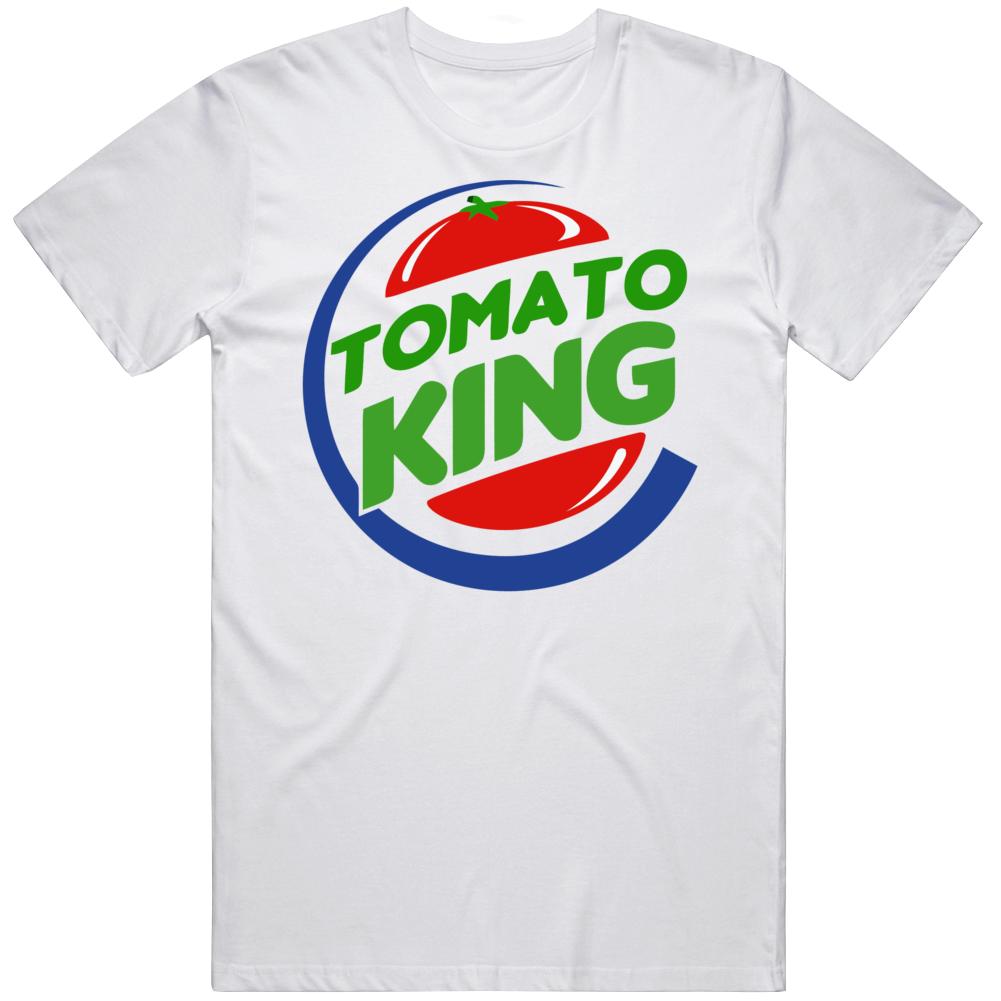 Tomato King Burger King Parody T Shirt