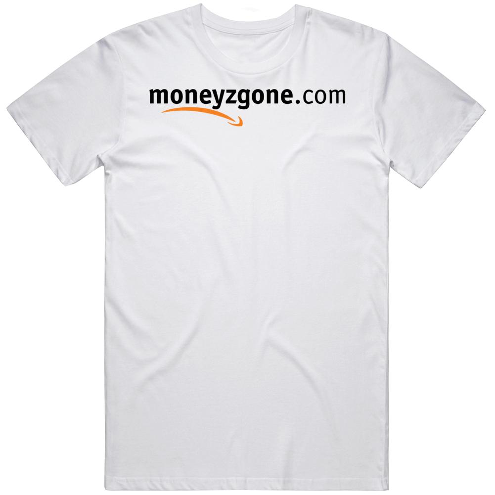 Moneyzgone Amazon Logo Parody Savings Funny T Shirt