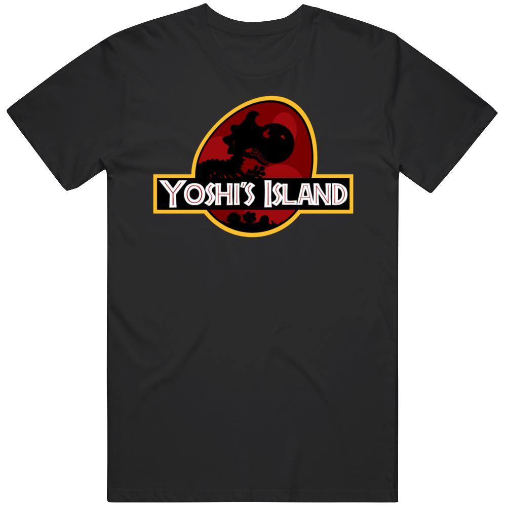 Yoshi's Island Jurassic Park Movie Parody Logo T Shirt