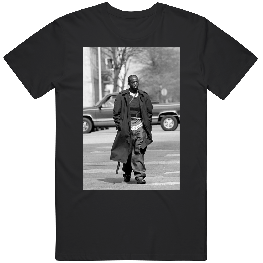 Omar Coming The Wire Michael Williams Rest In Peace T Shirt