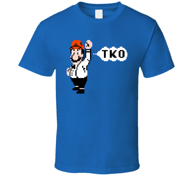Mike Tyson's Punchout Mario Referee T Shirt