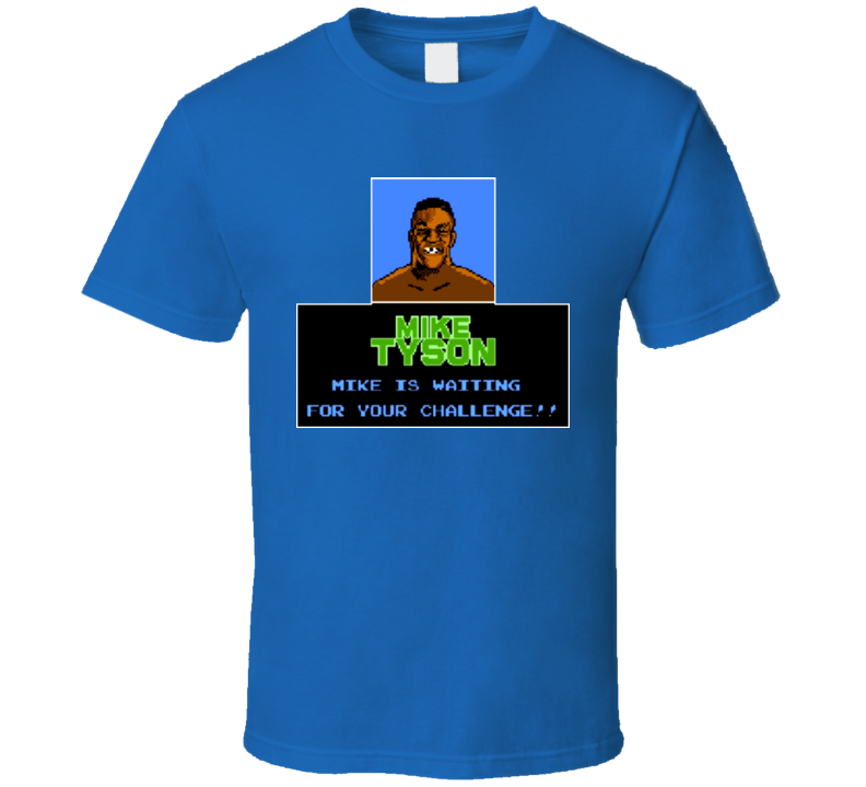 Mike Tysons Punchout Retro NES T Shirt