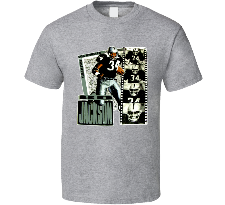 Bo Jackson Los Angeles Football T Shirt