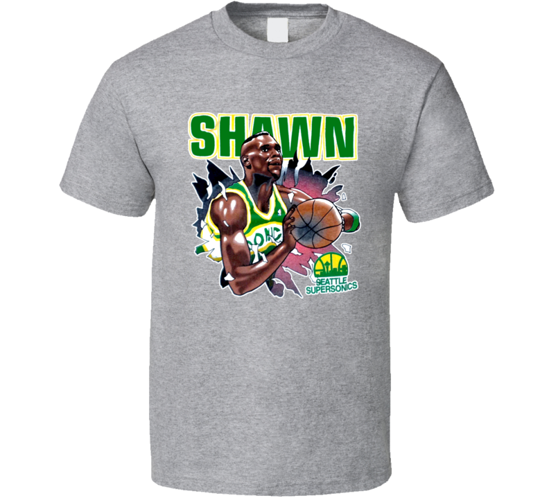 Shawn Kemp Retro Basketball T Shirt