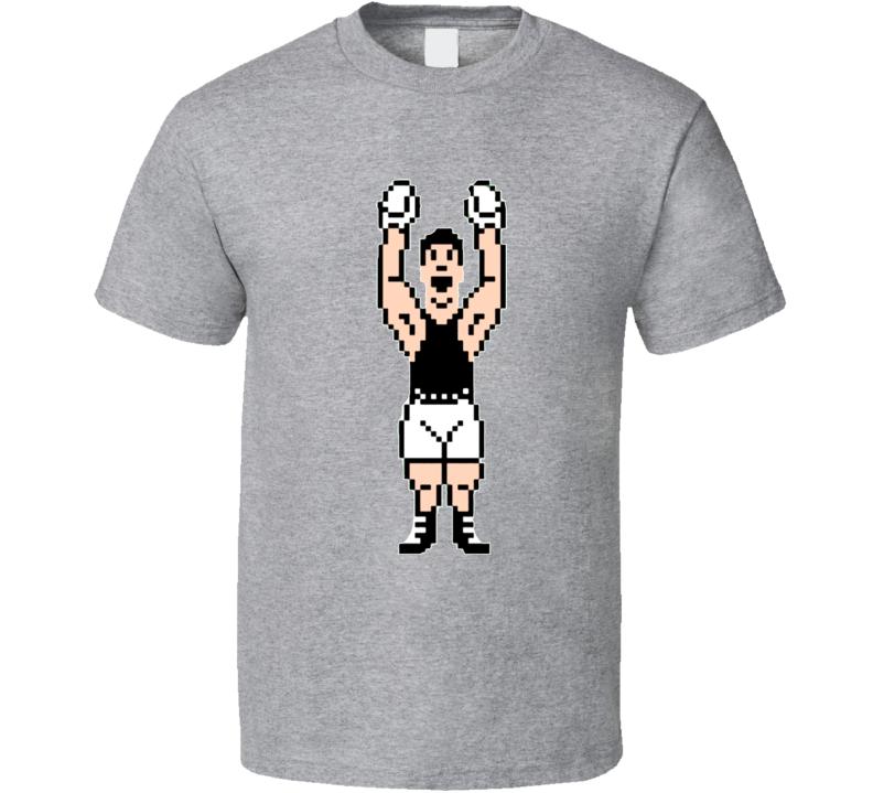 Mike Tysons Punchout Little Mac 8 Bit Boxing T Shirt
