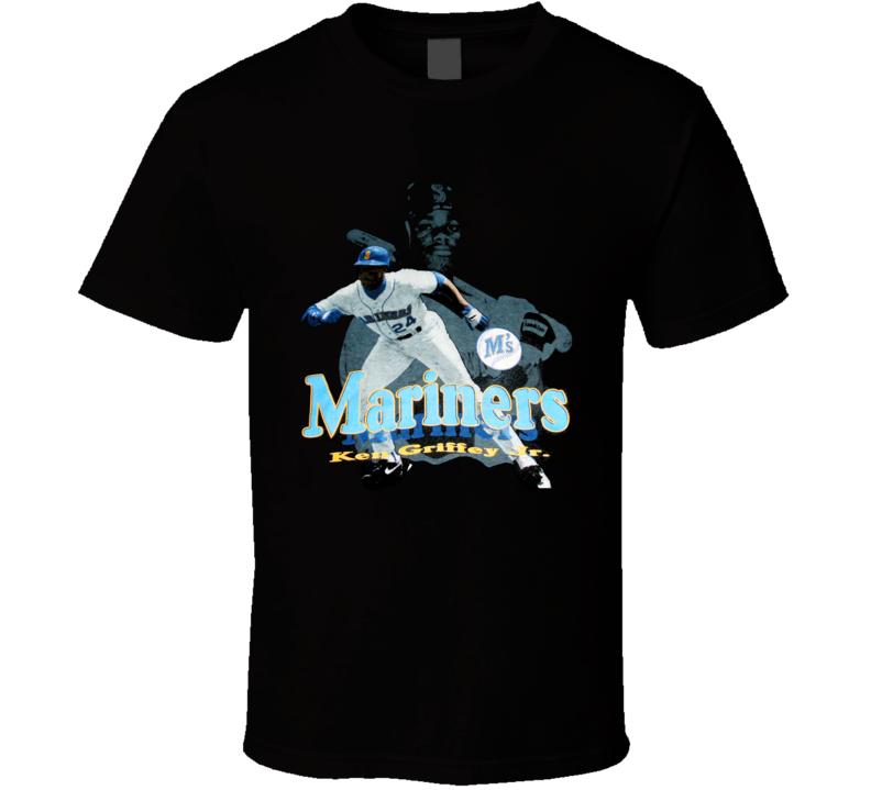 Ken Griffey Jr Seattle Baseball Legend T Shirt