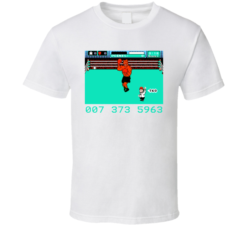 Mike Tysons Punchout Final Stage T Shirt
