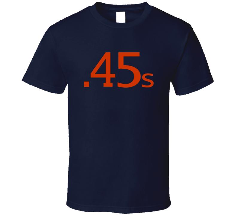Houston Colt 45s Retro Baseball Logo T Shirt - Navy