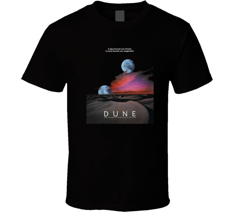 Dune 80's Retro Sci-fi Movie T Shirt