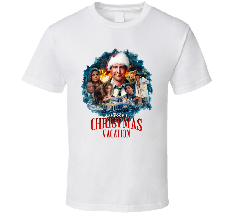 National Lampoon's Christmas Vacation 80's Movie T Shirt