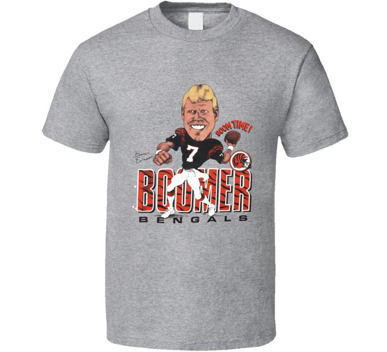 Boomer Esiason Cincinnati Football Legend Caricature T Shirt