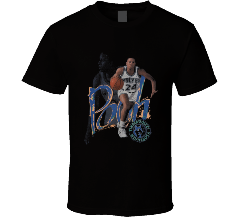 Pooh Richardson Retro Basketball 90's T Shirt