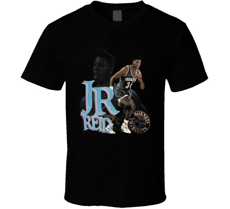Jr Reid Charlotte Basketball Retro T Shirt
