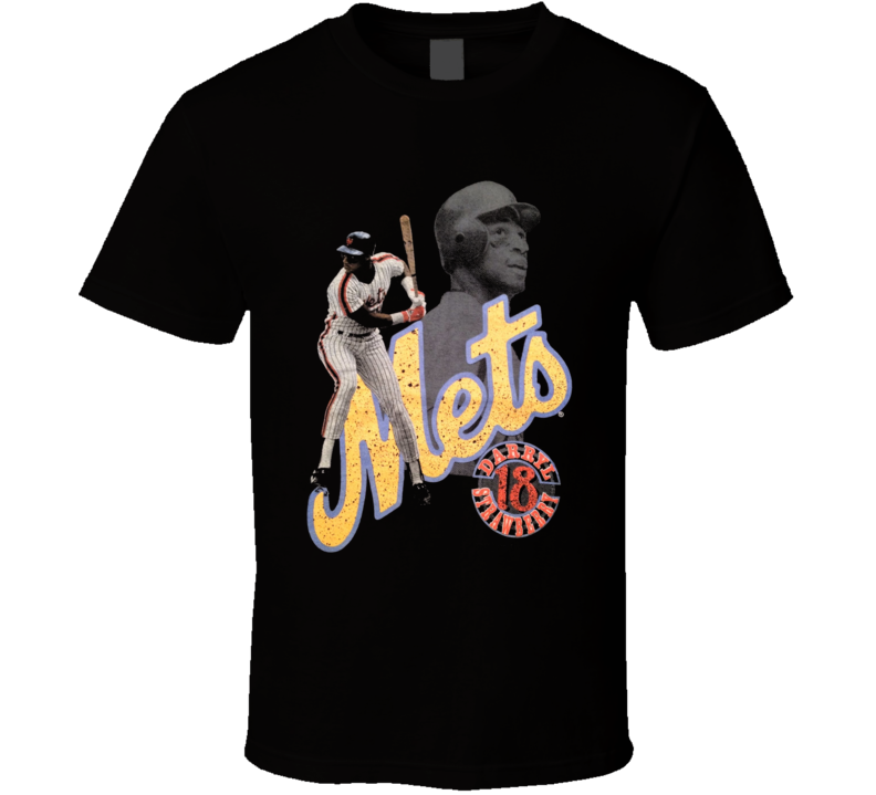 Darryl Strawberry New York Baseball T Shirt