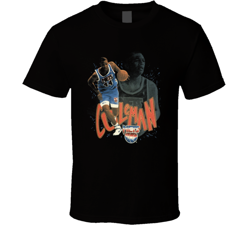 Derrick Coleman Retro Basketball T Shirt