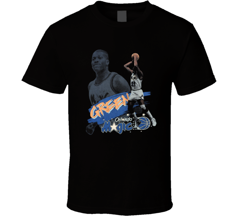 Sidney Green Retro Orlando Basketball T Shirt