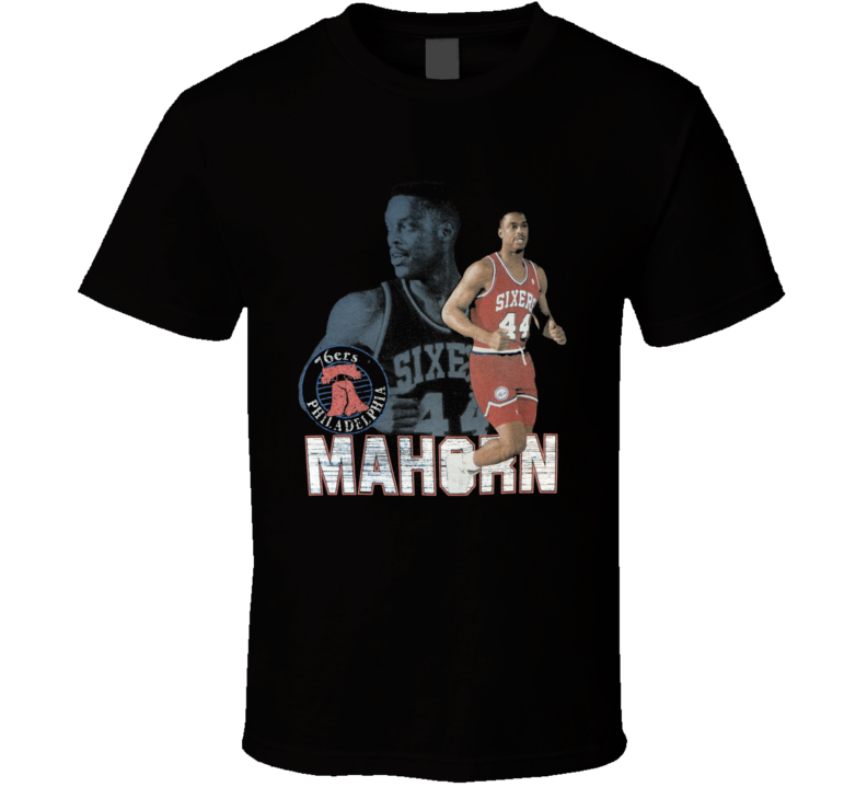 Rick Mahorn Retro Basketball T Shirt