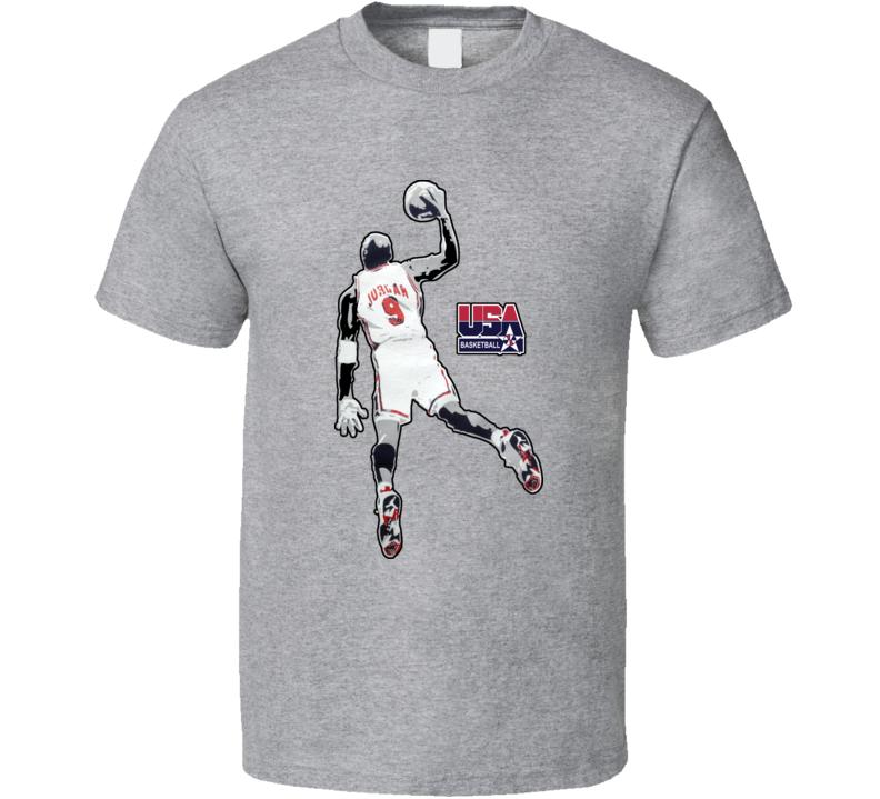 Micheal Jordan Barcelona Olympics Team Usa T Shirt