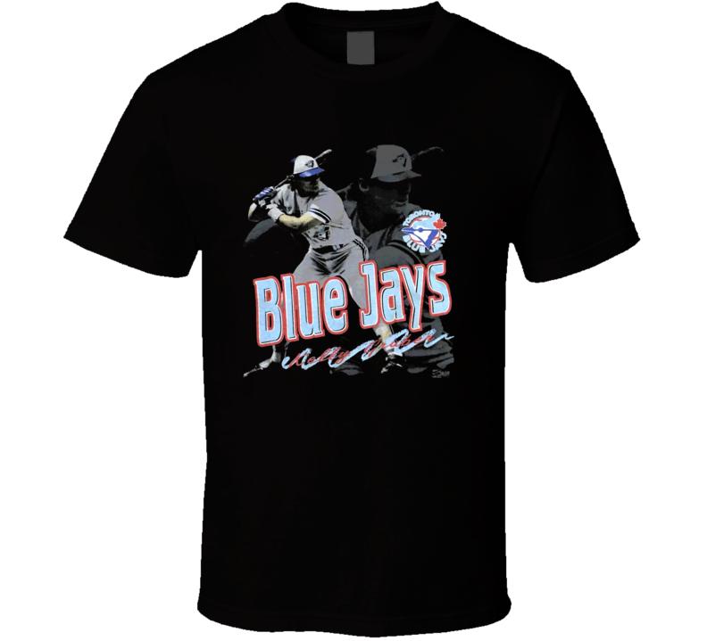 Kelly Gruber Toronto Baseball Retro T Shirt
