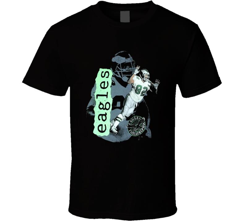 Reggie White Philadelphia Retro Football T Shirt