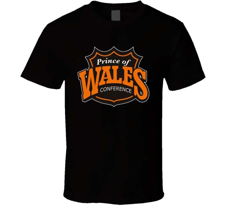 NHL Retro Wales Conference Logo T Shirt