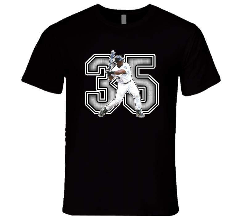 Frank Thomas Chicago Baseball  Legend Retro Sports T Shirt