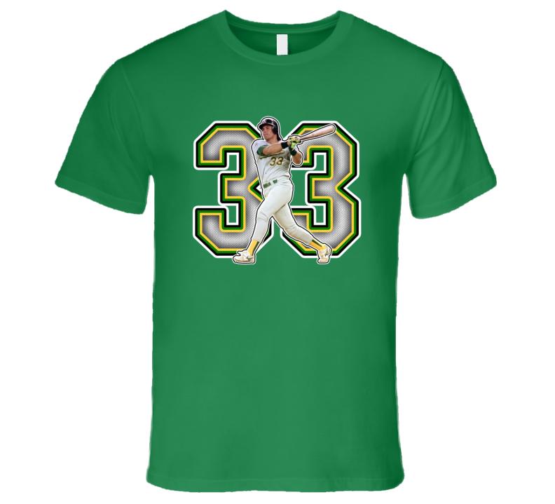 Jose Canseco Oakland Baseball Legend Retro Sports T Shirt